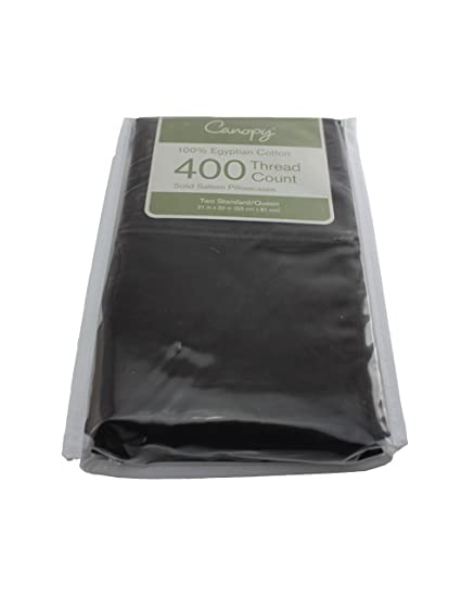 Image Unavailable  sc 1 st  Amazon.com & Amazon.com: Canopy 100% Egyptian Cotton 400 Thread Count Pillowcases ...