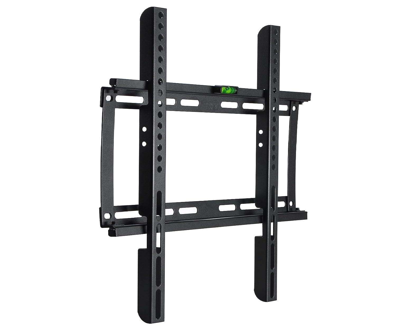 BPS Ultra Slim TV Wall Bracket Wall Mount for 23-55 inch Samsung LG Sony Sharp LED LCD Plasma Full HD 1080p 3D 4K Smart TV Max VESA 400x400, Capacity 95kg(209 lbs), Spirit level included MT9010UK2