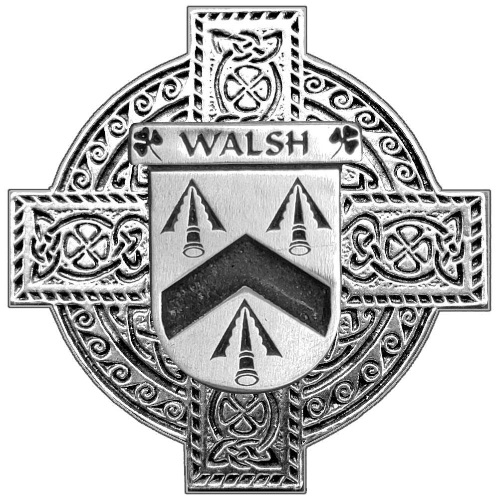 Walsh Irish Coat of Arms Regular Buckle