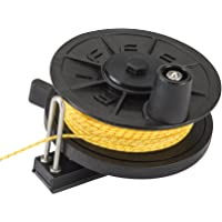 LOW-PRO Horizontal Reel (125 ft. x 600 lb. Spectra Line) - RADIAL MOUNT by Riffe
