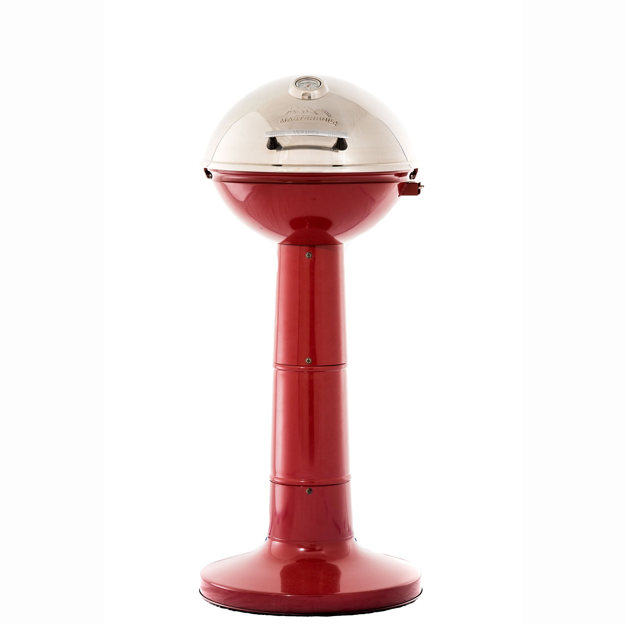 Masterbuilt Verdana Outdoor Patio 18 Inch 1650W Electric Pedestal Grill, Red by Regalo (Image #1)