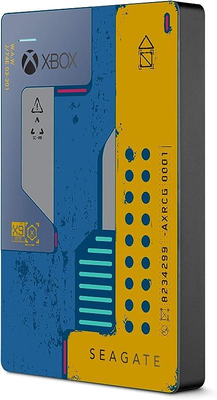 Seagate Game Drive para Xbox, Disco duro externo de 2 TB, HDD portátil, USB 3.0, CyberPunk 2077 Special Edition, Diseñado para Xbox One (STEA2000428): Amazon.es: Informática