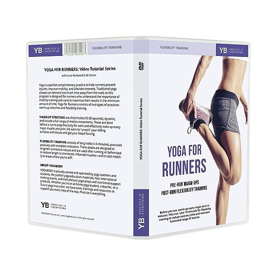 Yoga para corredores [oficial] con Lucas cremallera para DVD ...