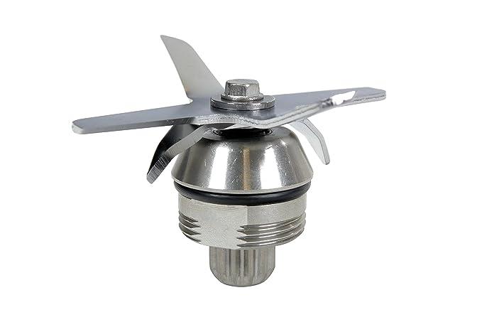 Batidora de Vaso JTC Omni Blend V: Batidora Licuadora jarra de 2L (BPA-Libre) con 6 acabados en acero inoxidable - 2238W Potencia y 38000RPM - para fina ...