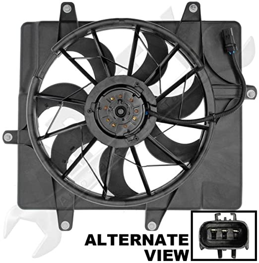 Amazon Com Apdty 731133 Radiator Cooling Fan Assembly Fits 2001