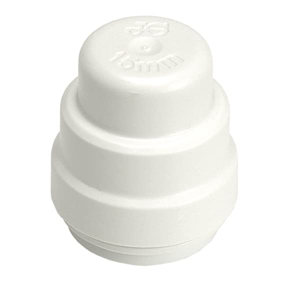 JG Speedfit PSE4622W Stop End, White, 22 mm, Set of 5 Pieces - - Amazon.com