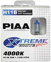 TWIN PACK PIAA 15223 H3 55W=110W XTREME WHITE PLUS REPLACEMENT BULBS