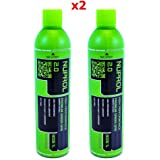 Nuprol Green Gas 2.0 1L Bottle 10.5oz Gas for Airsoft Guns x2 PACK