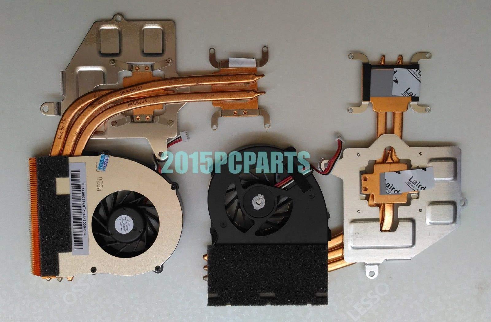 FidgetGear CPU Cooling Fan for Sony VPC-F M930 PCG-81214L PCG-81114L CPU Fan with Heatsink UDQFRRH01DF0 by FidgetGear