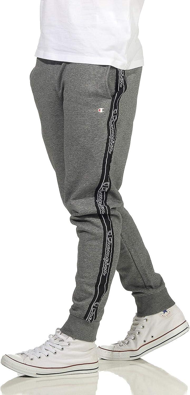 Champion Men's Seasonal Tape Pants Pantalones de chándal para Hombre