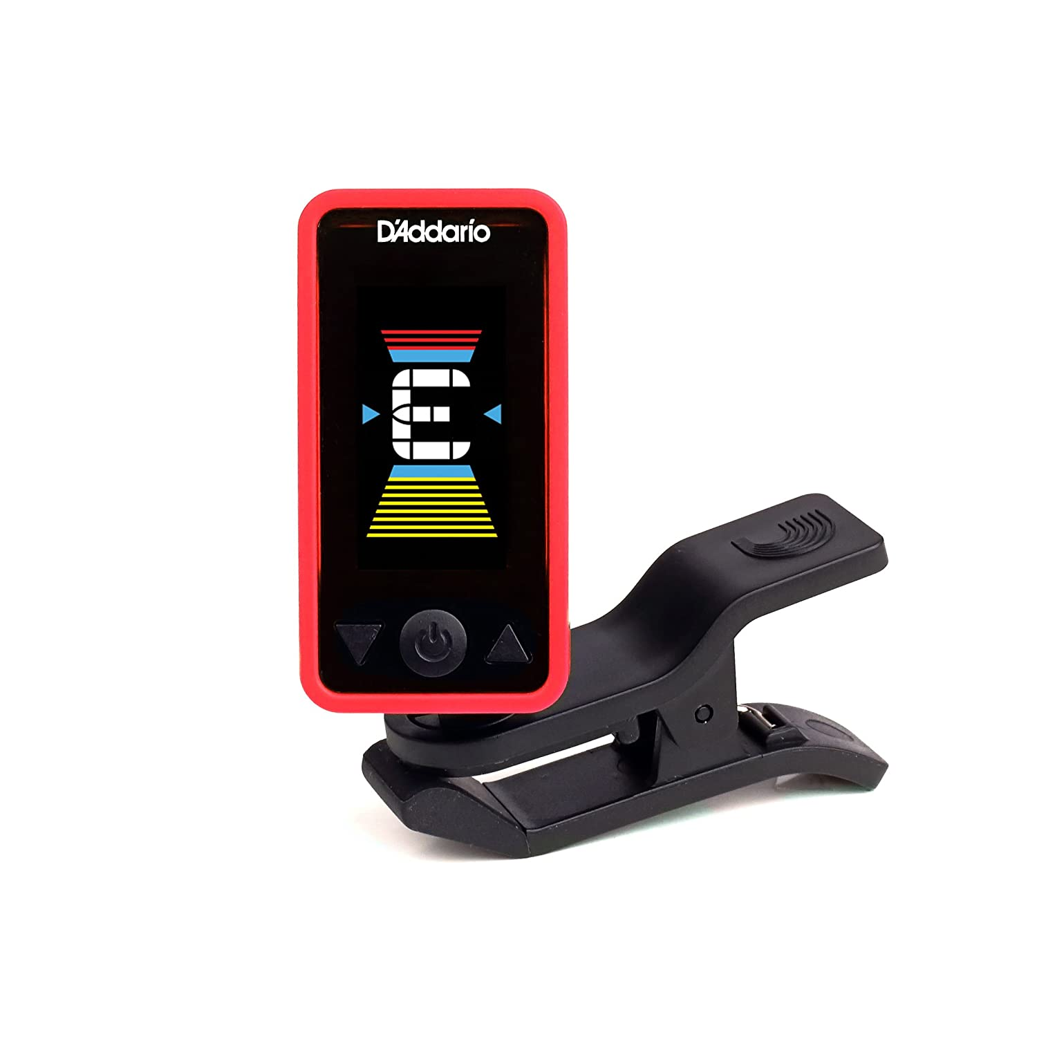 D'Addario Accessories Eclipse Headstock Tuner, Green D' Addario &Co. Inc PW-CT-17GN