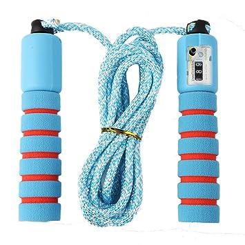 Sinwind Springseil Kinder Springseil mit Z/ähler /& Komfortablen Griffen Speed Rope Skipping Rope f/ür Fitnesstraining und Boxen