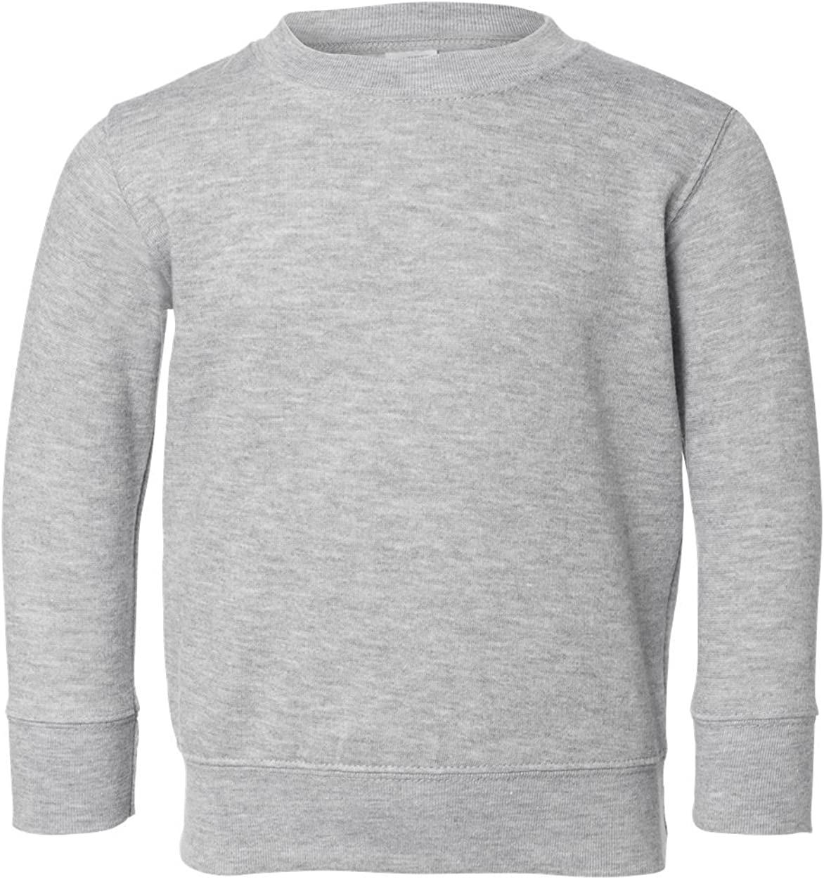 Rabbit Skins Toddler Sweatshirt 5T//6T Dark Heather M-3317