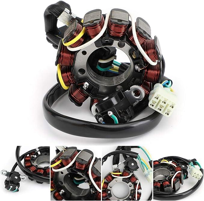 Bruce /& Shark Stator Magneto Generator for H-O-N-D-A CRF110F CRF 110 2013-2018 31120-KYK-911