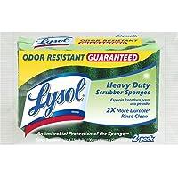 Quickie Lysol Multiusos Durable Esponjas de Limpieza, Paquete de 6