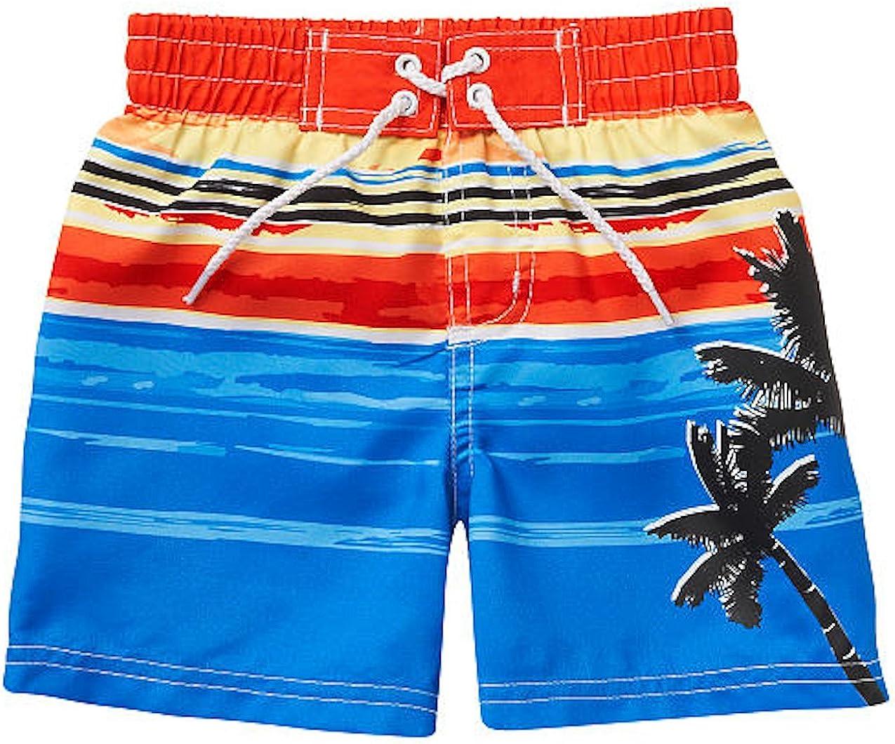 Palms Size 2T Navy OshKosh BGosh Little Boys Bathing Swim Trunks