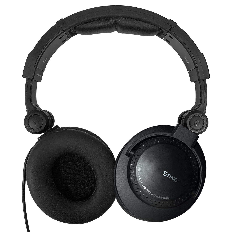 Clutch Stingray Performance DJ Headphones with Headphone Gear Bag Package
