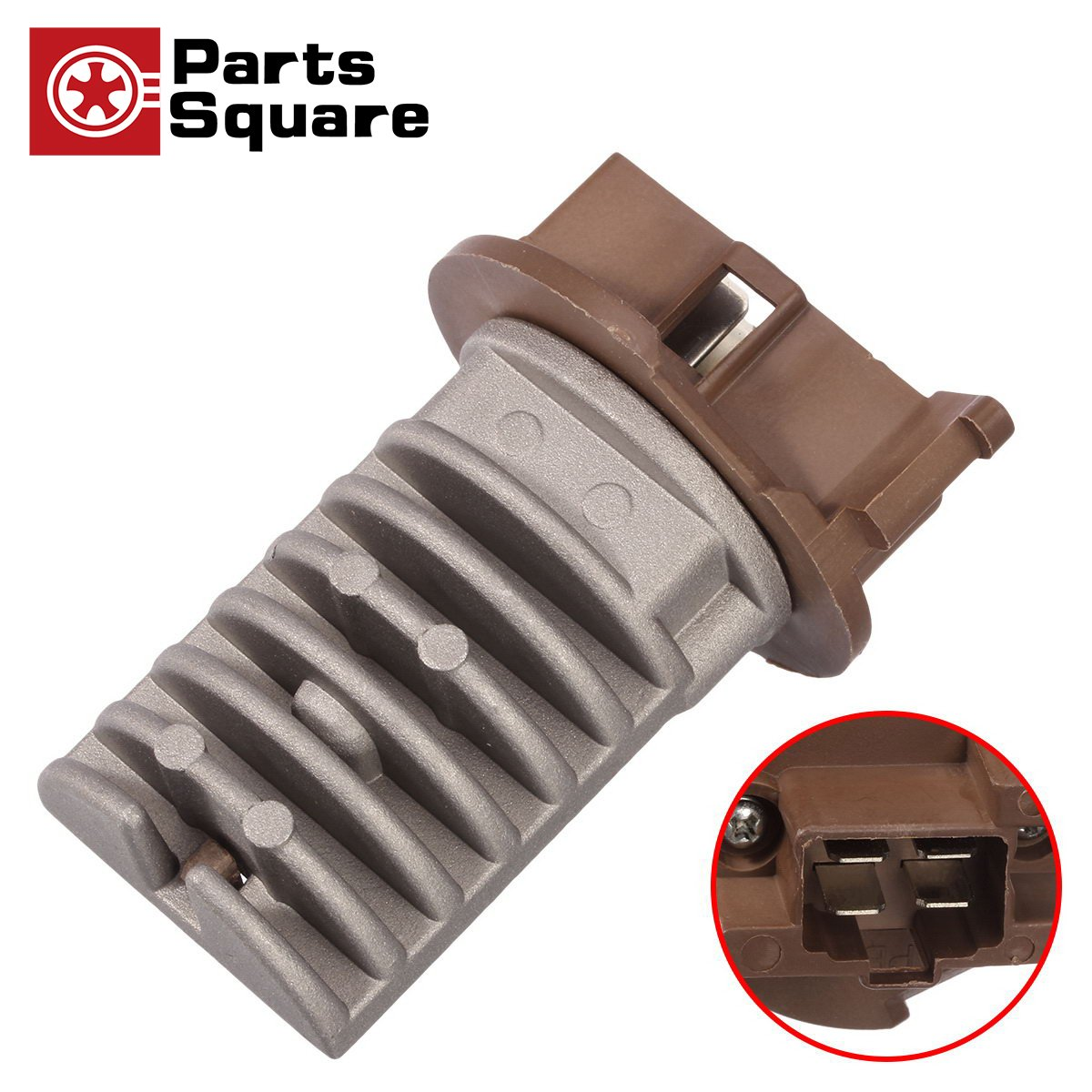 PartsSquare 4P1493 Rear A/C Heater Blower Motor Resistor RU364 Replacement for 2001 2002 2003 2004 2005 2006 ACURA MDX, 2003 2004 2005 2006 2007 2008 HONDA PILOT