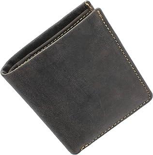 Visconti Collezione Slim SABRE Portafoglio in Pelle Con Protezione RFID VSL21 Nero/Rosso