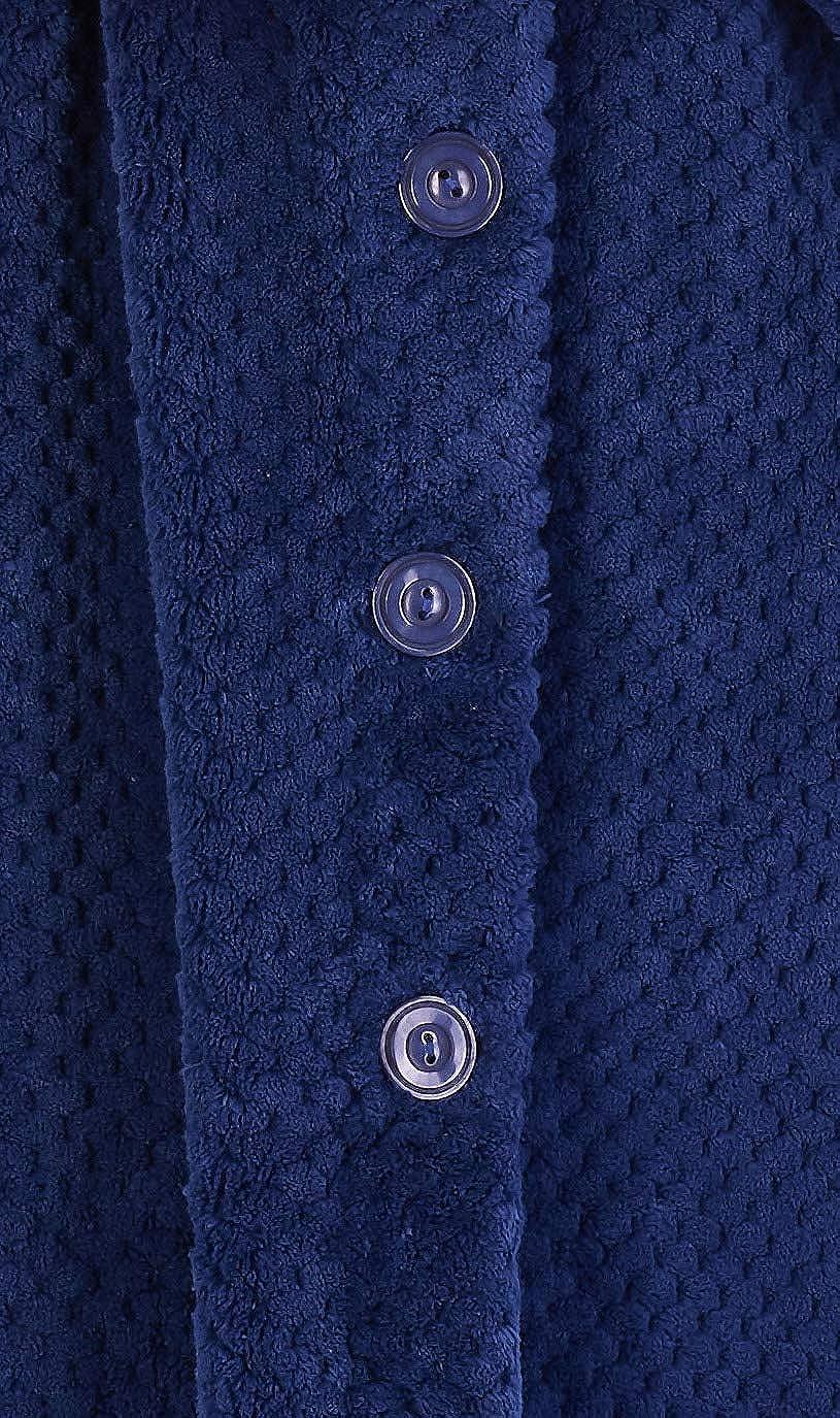 Slenderella Ladies 52//132cm Long 300GSM Thick Soft Waffle Fleece Shawl Collared Bath Robe Dressing Gown House Coat Small Medium Large XL XXL /& XXXL
