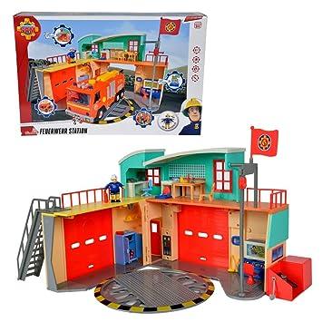 Sam El Bombero - Fireman Sam - Estación de Fuego con Luz y Sonido