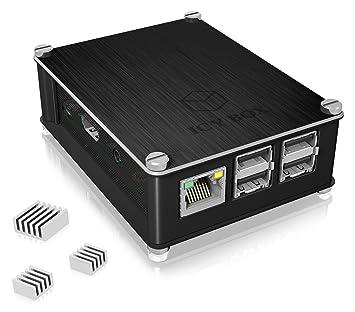 ICY BOX RP Carcasa para Raspberry Pi 2 & 3 Model B, Aluminio ...