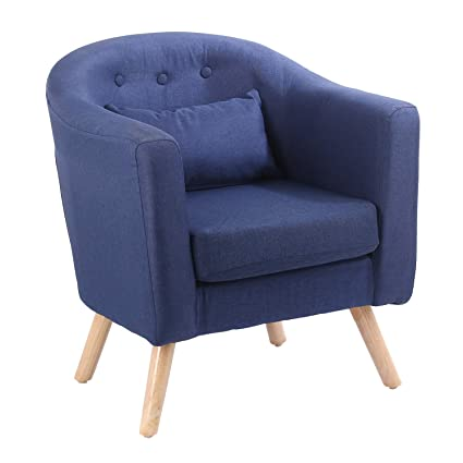 Fine Glenmore Fabric Tub Chairs For Living Room Linen Armchair Bucket Chair Office Chair Modern Style Blue Jrg1 Ibusinesslaw Wood Chair Design Ideas Ibusinesslaworg