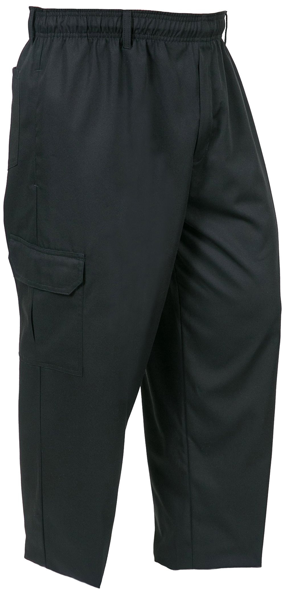 Mercer Culinary M61090BK5X Genesis Men's Chef Cargo Pant, 5X-Large, Black
