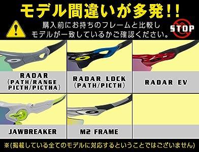 a3fa3ef027 Amazon.com  ZERO Replacement Lenses For Oakley Radar Path Sunglasses ...
