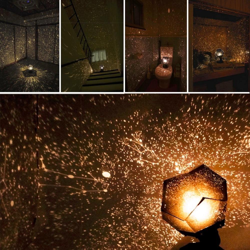 Nice KOBWA Season Stars Projector Night Light DIY LED Sky Projection Lamp:  Amazon.co.uk: Kitchen U0026 Home