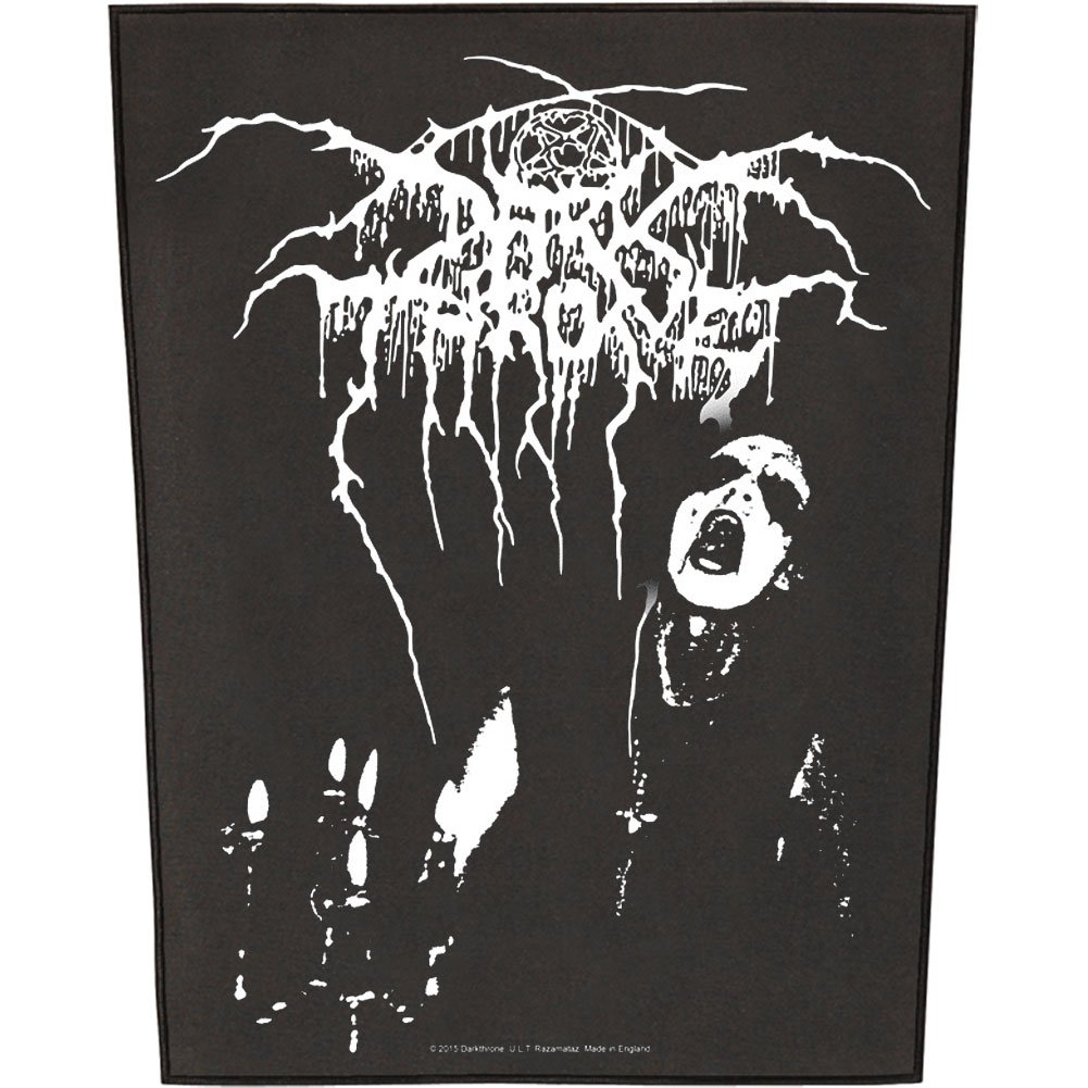 Dark Throne Men's Transilvanian Back Patch Black RAZAMATAZ