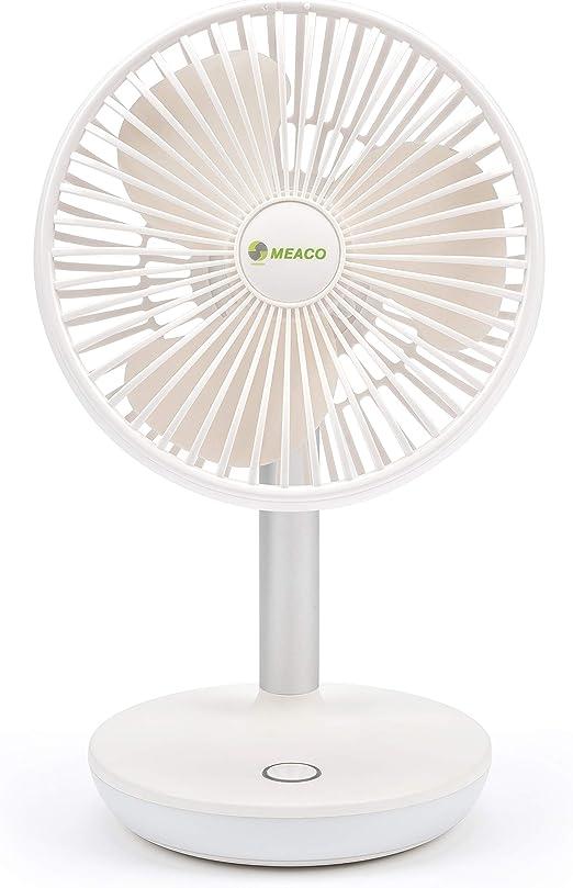 Ventilador inalámbrico portátil MeacoFan 260C con luz nocturna ...