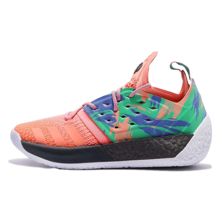 (アディダス) ハーデン Vol. 2 メンズ バスケットボール シューズ adidas Harden Vol. 2 AH2219 [並行輸入品] B079YPBBSQ 27.5 cm Chalk Coral / Hi Res Green / Footwear White