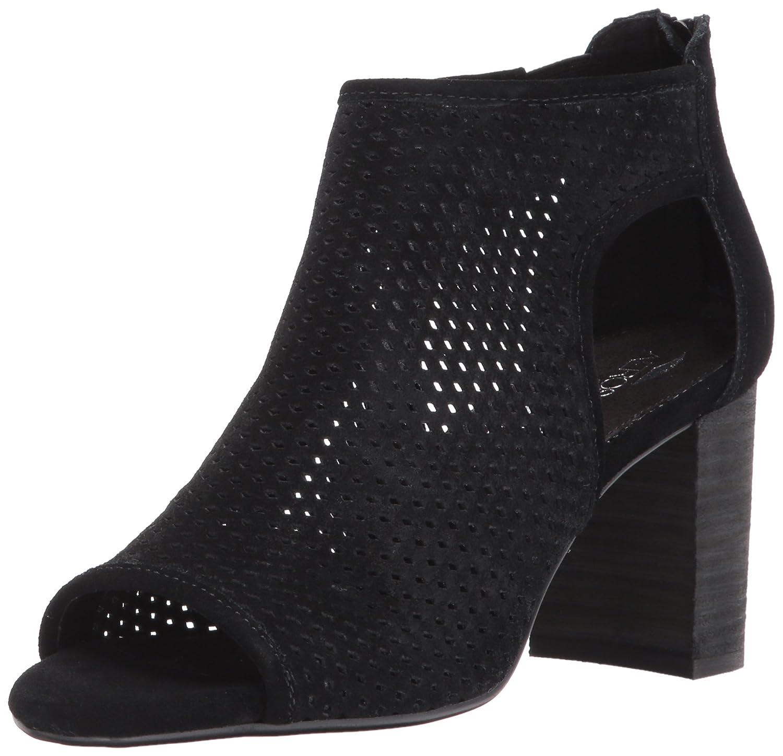 Aerosoles Women's High Frequency Ankle Bootie B06Y3D1TYC 10 B(M) US|Black Suede