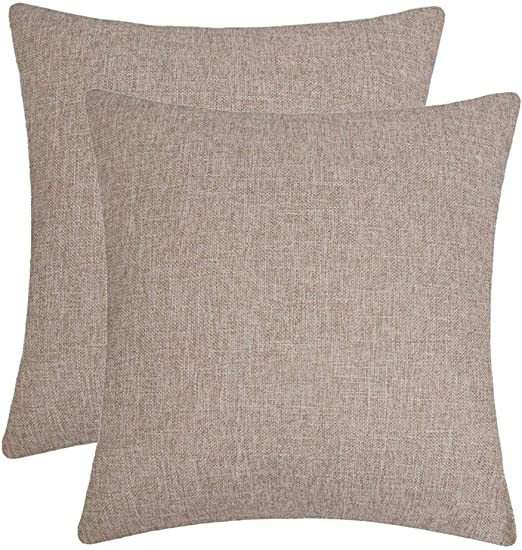 """22/""""x22/""""//24/""""x24/"""" Sofa Throw Pillow Cases Cushion Covers Solid Pillow Covers"""