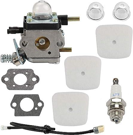 Air Filter Tune Up Kit For Mantis Echo Tiller 7222 7225 Zama c1uk54a Fuel Line