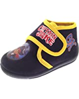 Disney Boys Kids Jake And The Neverland Pirates Slippers Booties Shoes Size UK 4 - 11.5