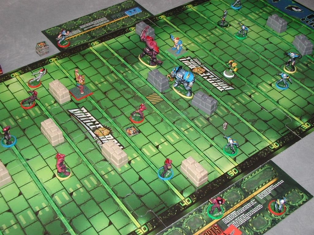 amazon com milton bradley battleball game the future of football