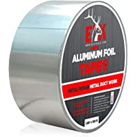 ELK Aluminum Foil Tape for Metal Repair, Air Ducts, Insulated Pipes, HVAC, Sealing Ductwork - Vapor, Exhaust and Heat…