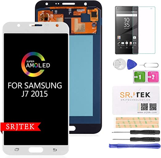 AMOLED - Pantalla LCD de Repuesto para Samsung Galaxy J700 J700H J700M J700DS J700F J700T J700P: Amazon.es: Electrónica
