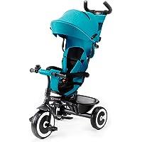 Kinderkraft Triciclo Evolutivo ASTON, Plegable, Cinturón, 9 Meses