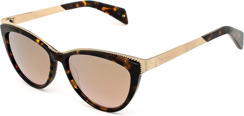Ted Baker SWIFT-1466-145 Gafas, Havana - Dorado, 55/15/145 ...
