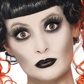 Amakando Gothic Make Up Set Halloween Schminke Geist Steampunk