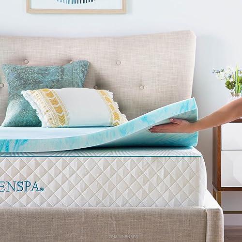 Gel mattress topper full