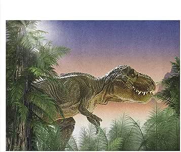 Amazon.com : Stevenhome Jurassic Fish Tank Backdrop Poster ...