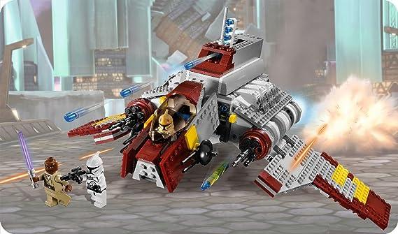 LEGO Star Wars 8019 Republic Attack Shuttle - Nave de ataque de la República: Amazon.es: Juguetes y juegos