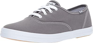 Keds Womens WF35186 Champion Oxford Lace Up,Dark Grey,4.5W