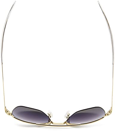 28e5e3522 Amazon.com: Randolph Aviator Polarized Sunglasses,23K Gold Plated/Grey 52  mm: Clothing