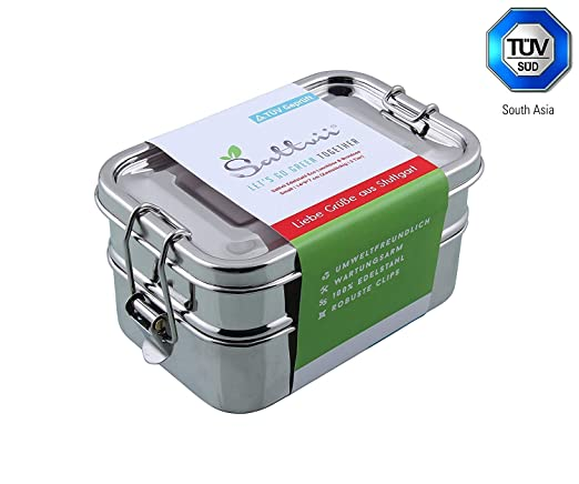 Sattvii y lunch box Eco de acero inoxidable Sattvii ...