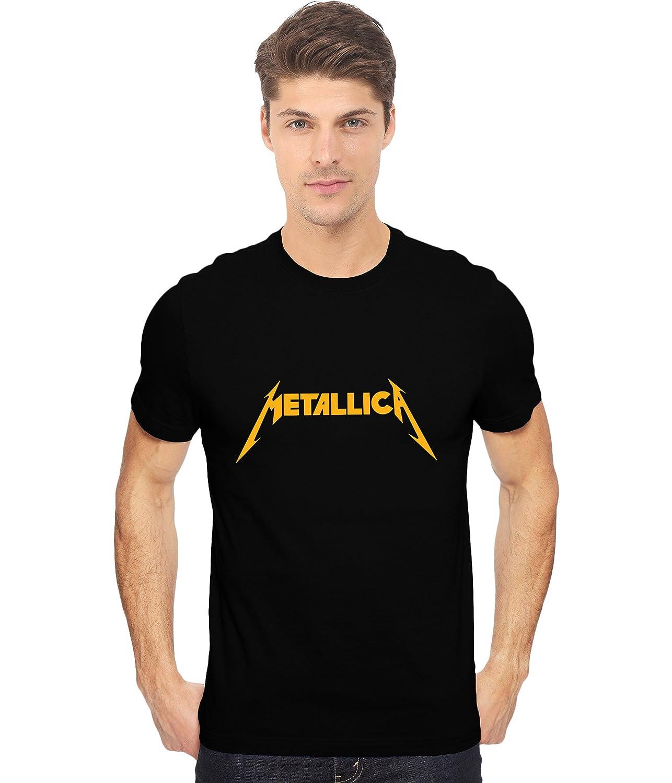 90dd5dbb H.D. Lifestyle Metallica Printed Fan Art Unisex T Shirt in Black ...
